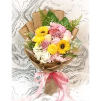 Bright Spring Soap Flower Bouquet