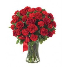 You're In My Heart Red Roses and Carnations