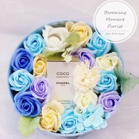 Coco Chanel Perfume Soap Flower Gift Box