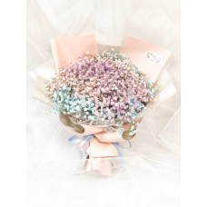 Colorful Baby's Breath Bouquet