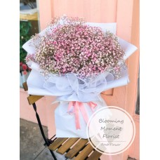 Gigantic Bouquet of Blushing Pink and White Baby's Breath