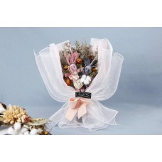 Rabbit Bunny Dried Natural Flower Bouquet
