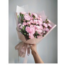 Pink Carnation and Mini Carnation Bouquet