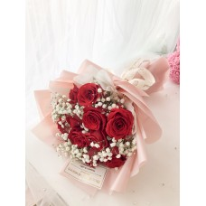 For My Girl Red Rose Bouquet