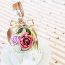 Soap Rose Ornament /Party Favor