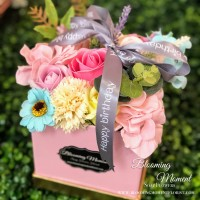 Assort Soap Flower Box Birthday Theme